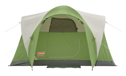 New Coleman Montana 4 Person Tent With Awning And Bonus