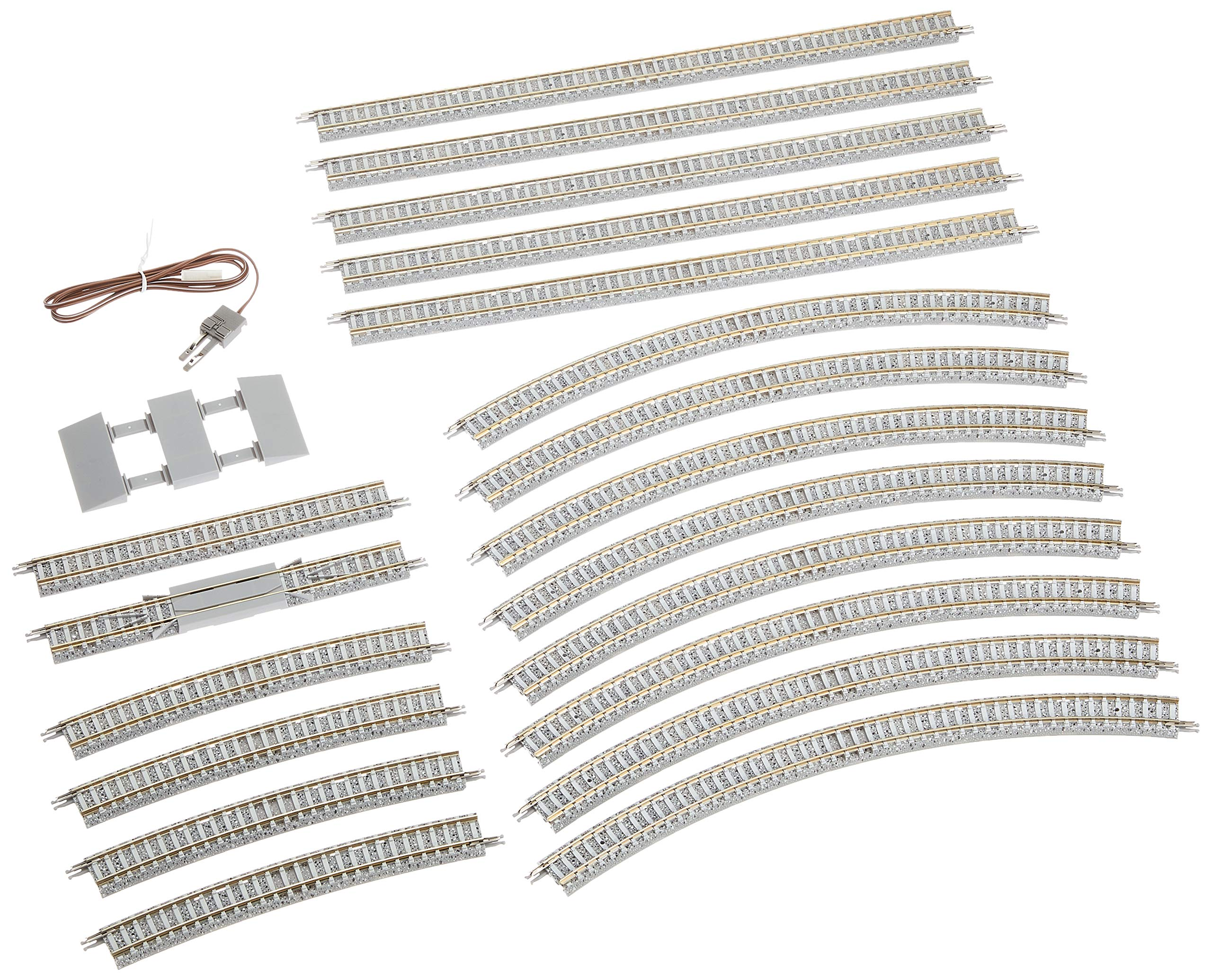 Tommy Tech 91028 N Gauge Double Track Passing Rail Set 1/150 D Pattern Japan F/s