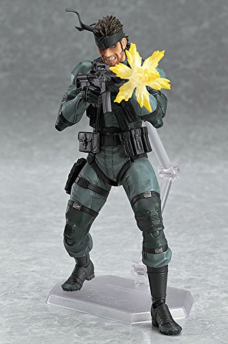 figma METAL GEAR SOLID2: SONS OF LIBERTY ソリッド・スネーク MGS2 ver. (ノンスケール ABS&ATBC-PVC 塗装済み可動フィギュア)