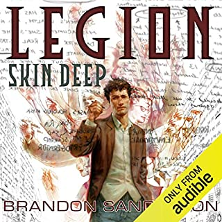 FREE Audiobook Download: LEGION: SKIN DEEP by Brandon Sanderson