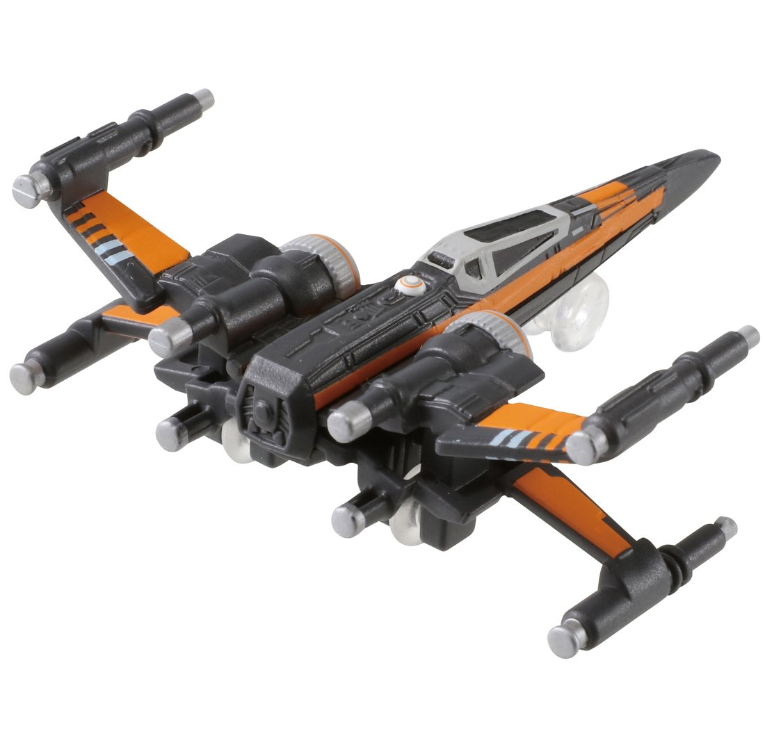 TAKARA TOMY Tomica TSW-04 Star Wars X-Wing Fighter Poe