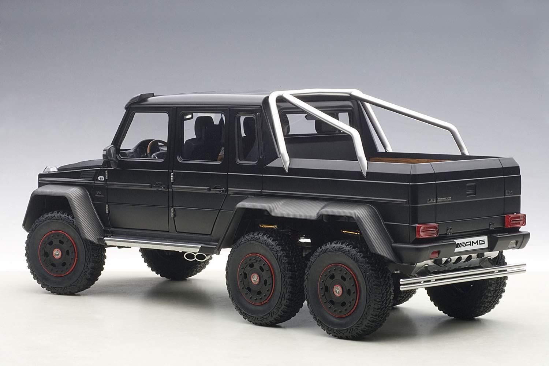 mercedes g63 amg 6x6 black 1 18 by autoart 76302 six wheels ebay. Black Bedroom Furniture Sets. Home Design Ideas
